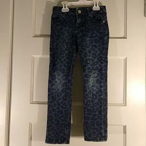 $3 Girls leopard print jeans